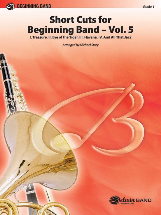 Short Cuts for Beginning Band -- Vol. 5