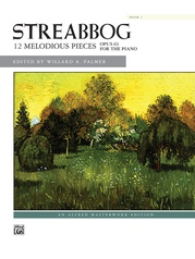 Streabbog: 12 Melodious Pieces, Book 1, Opus 63