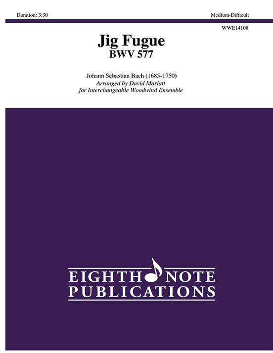 Jig Fugue BWV 577