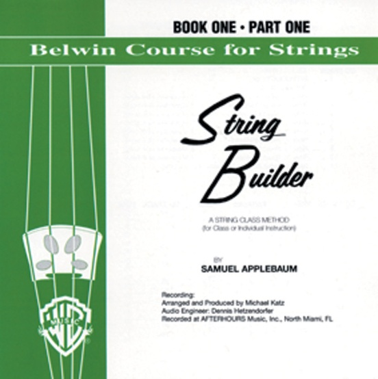 Belwin String Builder Accompaniment Recordings, Book One