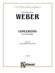Concertino for Clarinet in E-flat Major, Opus 26