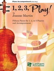 1, 2, 3, Play! - Violin Key Piano Accompaniment