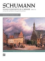 Schumann, Piano Concerto in A Minor, Opus 54