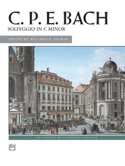 C. P. E. Bach: Solfeggio in C minor