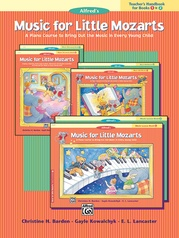 Music for Little Mozarts: Teacher's Handbook for Books 1 & 2