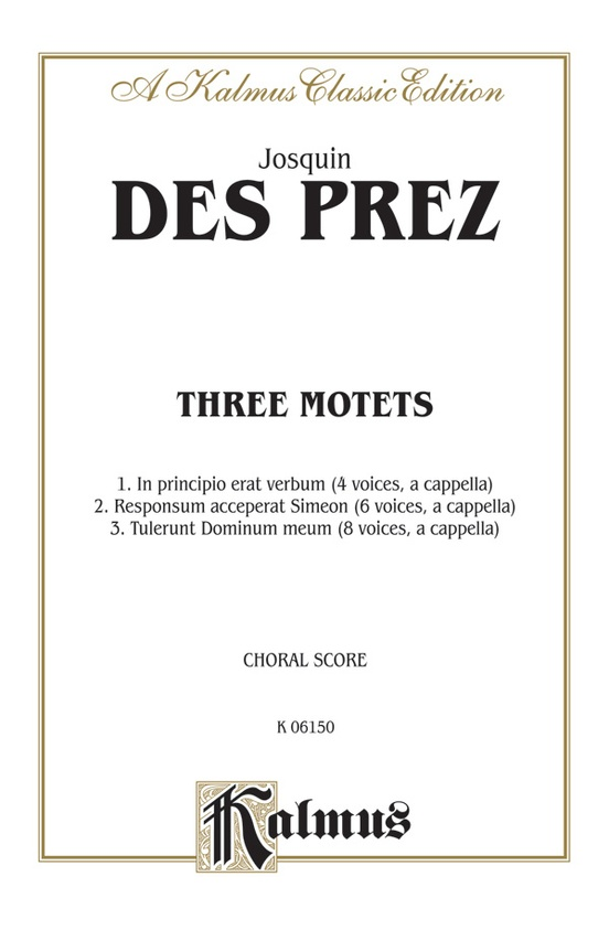 Three Motets