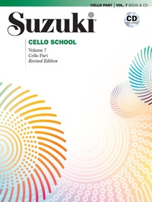 Suzuki Cello School Cello Part & CD, Volume 7 (Revised)