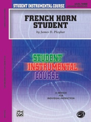 Student Instrumental Course: French Horn Student, Level III