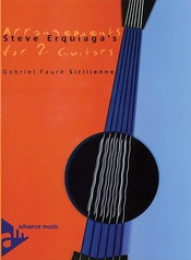 Steve Erquiaga's Arrangements for 2 Guitars: Sicilienne