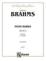 Piano Works, Volume II (incl. Opus 119 & 5 Etudes)