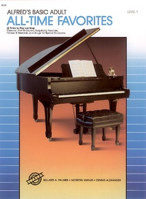 Alfred's Basic Adult Piano Course: All-Time Favorites Book 1