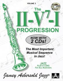 Jamey Aebersold Jazz, Volume 3: The ii/V7/I Progression