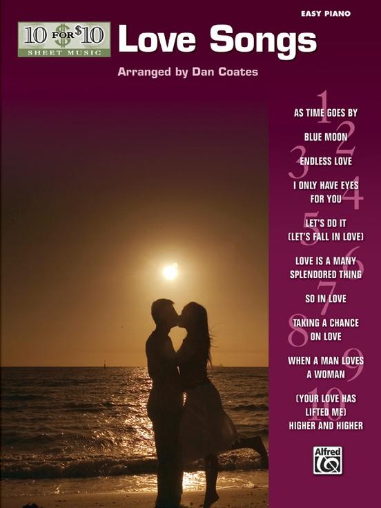 10 for 10 Sheet Music: Love Songs