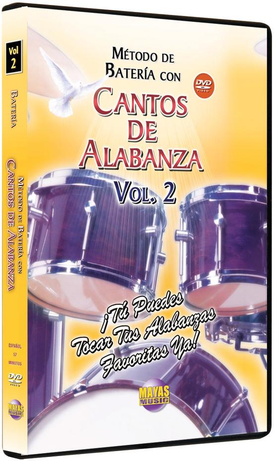 Método con Cantos de Alabanza: Batería Vol. 2