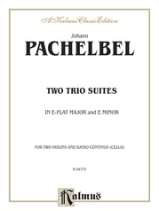 Two Trio Suites (E-flat Major, E Minor)