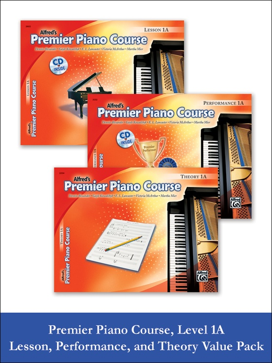Premier Piano Course, Lesson, Theory & Performance 1A 2012 (Value Pack)