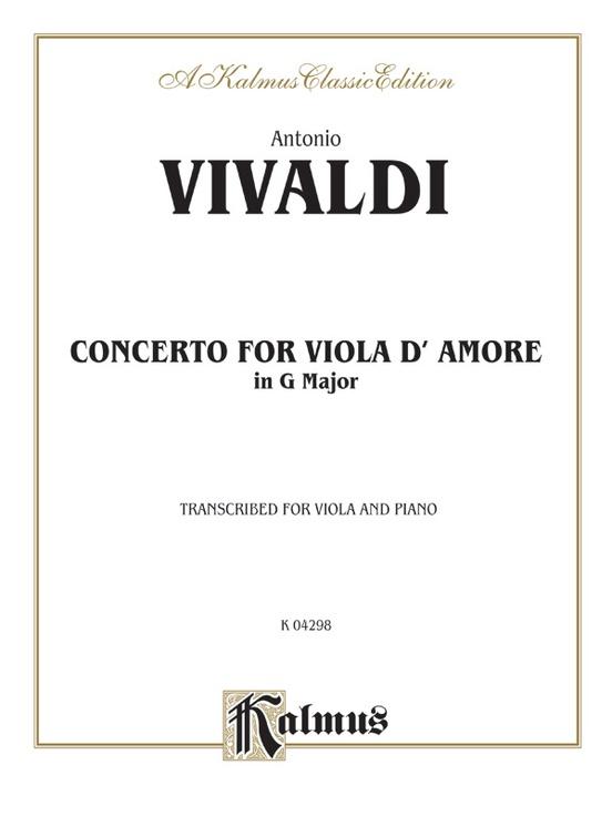 Concerto for Viola d'Amore
