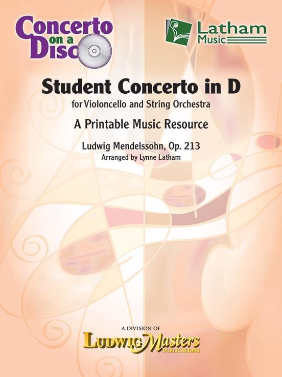 Student Cello Concertos on CD