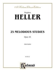 Twenty-Five Melodious Studies, Opus 45