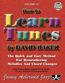 Jamey Aebersold Jazz, Volume 76: How to Learn Tunes