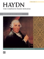 Haydn, The Complete Piano Sonatas, Volume 1