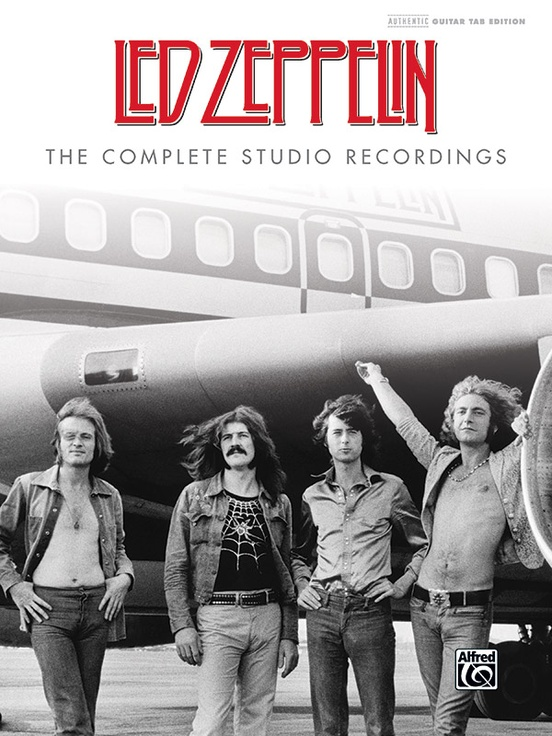 led zeppelin the complete studio recordings authentic guitar tab