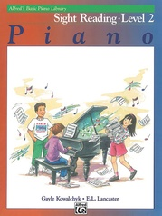 Alfred's Basic Piano Library: Sight Reading Book 2