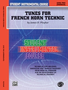 Student Instrumental Course: Tunes for French Horn Technic, Level II