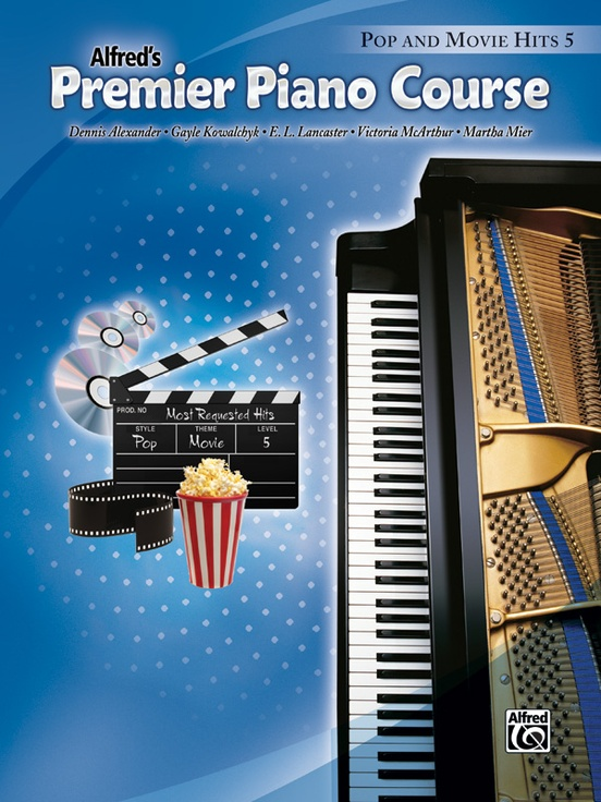 Premier Piano Course, Pop and Movie Hits 5