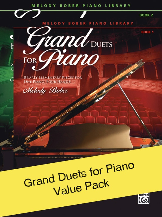 Grand Duets for Piano 1-2 (Value Pack)