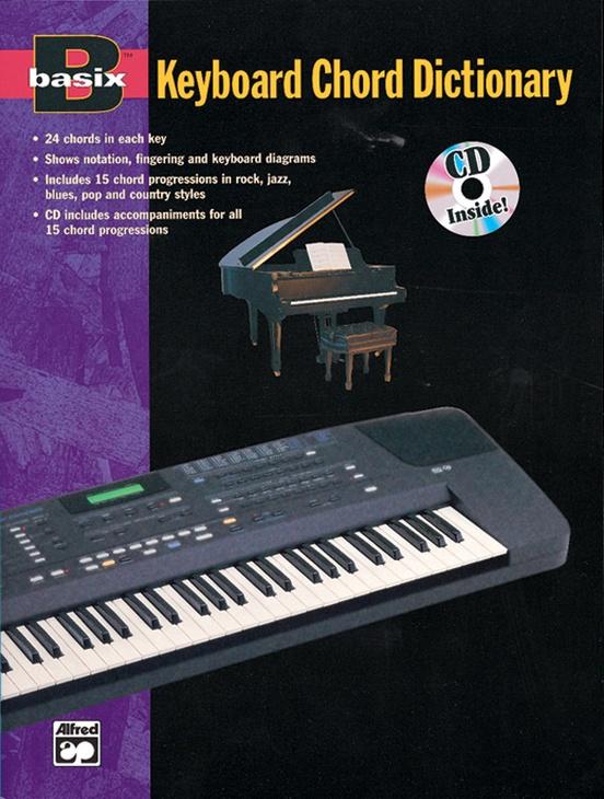 Basix Keyboard Chord Dictionary Keyboardpiano Book Cd