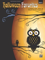Halloween Favorites, Book 1