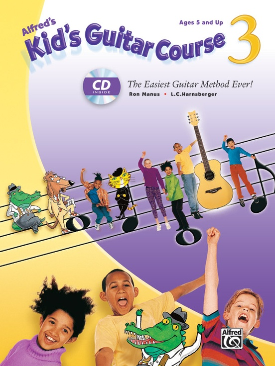 Alfred's Kid's Guitar Course 3
