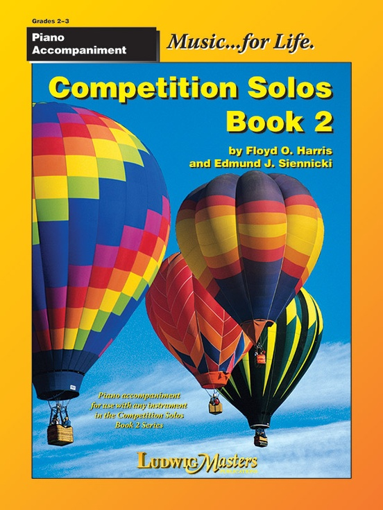 Competition Solos, Book 2 Piano Accompaniment
