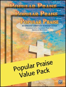 Popular Praise 5 Finger/Big Note/Easy Piano (Value Pack)