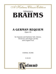 A German Requiem, Opus 45