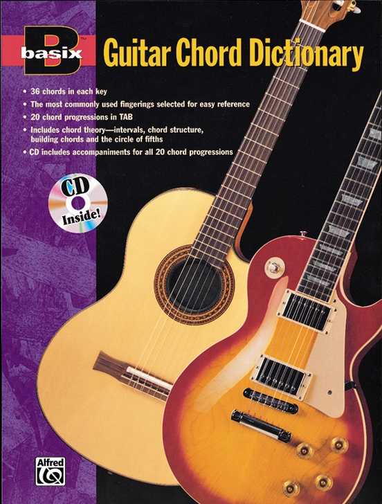 Basix Guitar Chord Dictionary Guitar Book Cd
