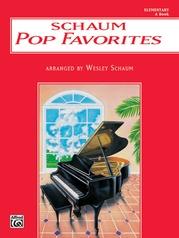 Schaum Pop Favorites, A: The Red Book