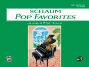 Schaum Pop Favorites, Pre-A: The Green Book
