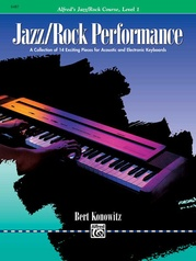 Alfred's Basic Jazz/Rock Course: Performance, Level 1