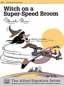 Witch on a Super-Speed Broom