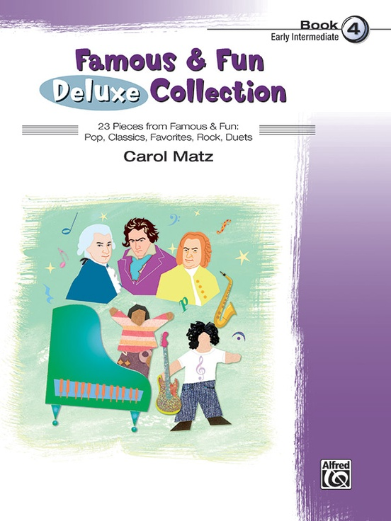 Famous & Fun Deluxe Collection, Book 4
