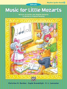 Music for Little Mozarts: Rhythm Speller, Book 2