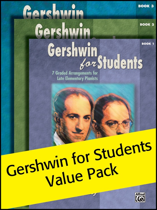 Gershwin for Students 1-3 (Value Pack)