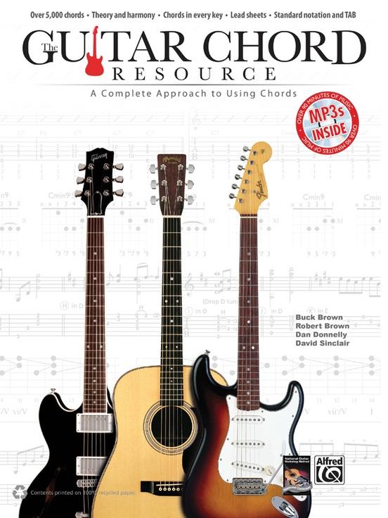 Guitar Chord Resource Guitar Book Mp3 Cd