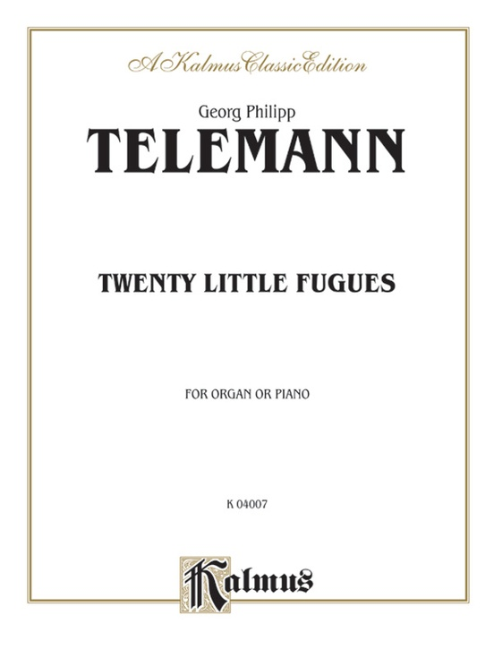 Twenty Little Fugues