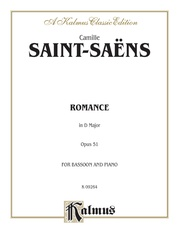 Romance in D Major, Opus 51