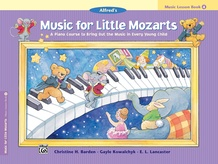 Music for Little Mozarts: Music Lesson Book 4