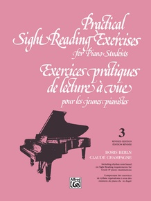 Practical Sight Reading Exercises for Piano Students, Book 3