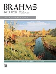 Brahms: Ballades, Opus 10